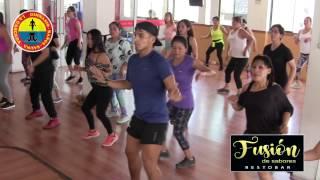 """Carlos Beramendi bailando """"Que Bonito"""" en el Gym La Cascada"""