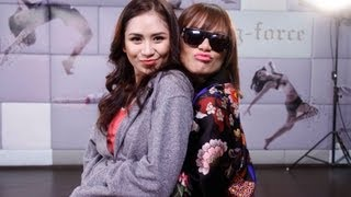 Sarah G and G-Force showdown! [raw footage]