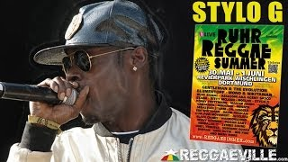 Stylo G - Move Back @ Ruhr Reggae Summer - Dortmund 2014 [June 1st]