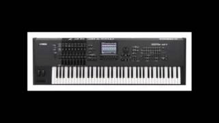Yamaha Motif XF7 - Fancy -  Bolero