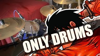 Drifters OP - Gospel of the Throttle REMIX ver. - ONLY DRUMS cover
