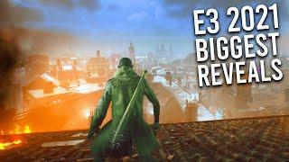 E3 2021:  30 BIGGEST REVEALS