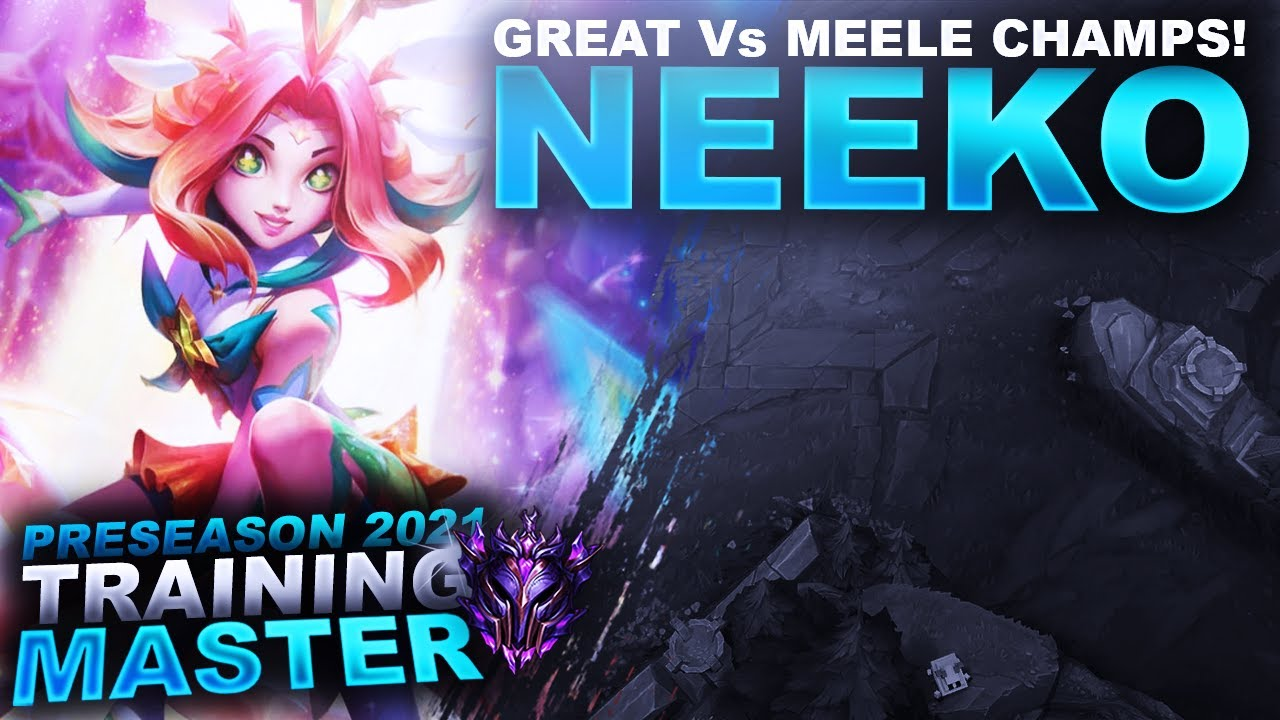HuzzyGames - NEEKO FEELS GREAT! AWESOME Vs MEELE MIDS! | League of Legends