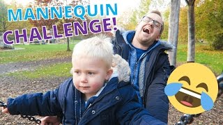 MANNEQUIN CHALLENGE! 😂