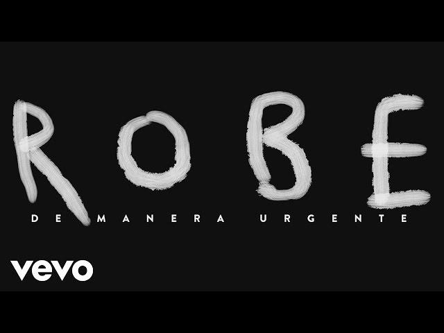 """Vídeo de """"De manera urgente"""" de Robe"""