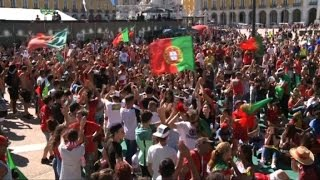 Excitement in Portugal ahead of Euro 2016 final