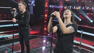 "The Voice of Poland IV - Michał Rudaś vs Juan Carlos Cano - ""Cryin"" - Bitwa I"