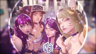 Nightcore - POP/STARS - (League of Legends / Lyrics)