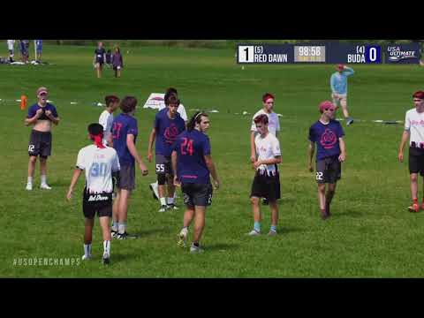 Video Thumbnail: 2019 U.S. Open Club Championships, YCC U-20 Boys' Pool Play: Bay Area Red Dawn vs. Boston BUDA
