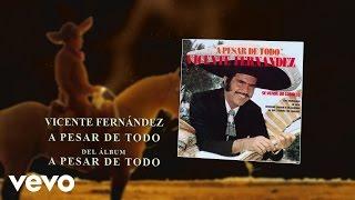 Vicente Fernández - A Pesar de Todo (Audio)