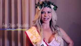 Ana Flavia Magalhães de Goias Miss Bumbum Brasil 2014