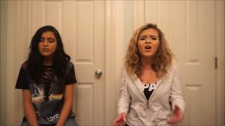 I Can Only - Jojo ft. Alessia Cara (Cover by Cassidy & Corrine Harris)