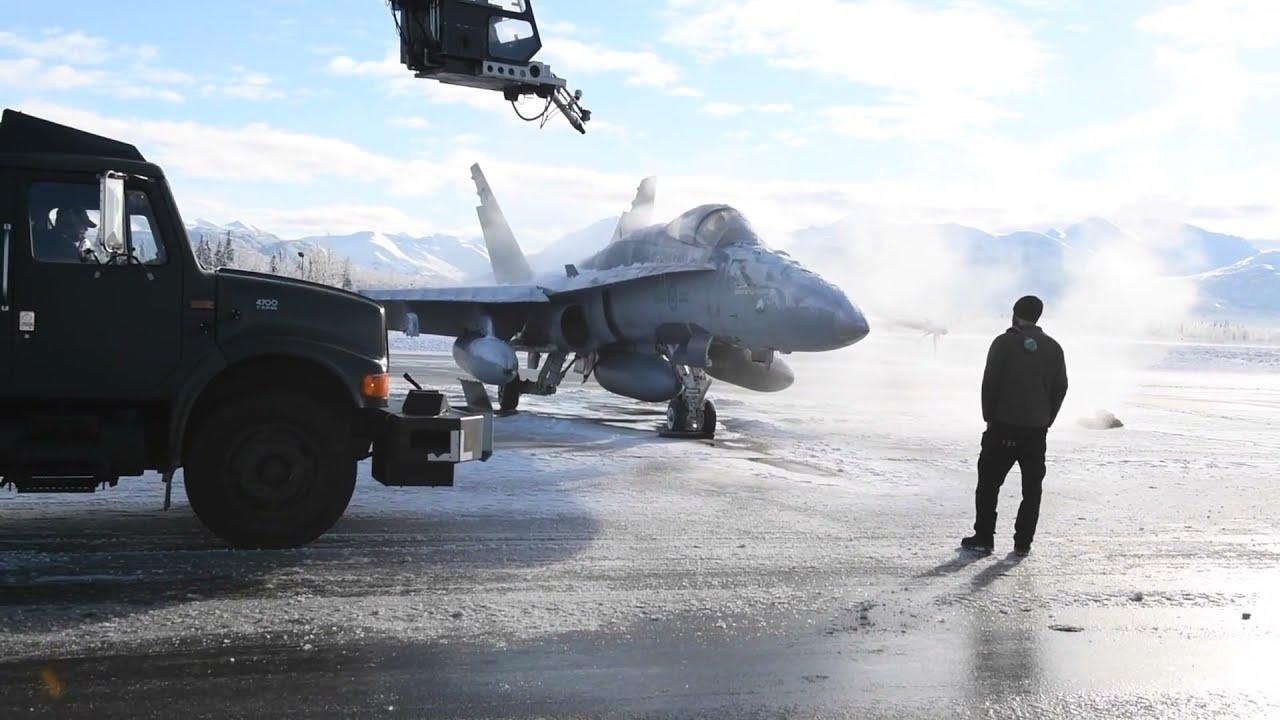 Royal Canadian Air Force CF-18 Hornet Fighter Jets • Operation Noble Defender