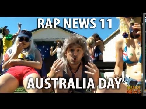 Australia Day - with Ken Oathcarn (PG - family friendly version) [RAP NEWS 11]
