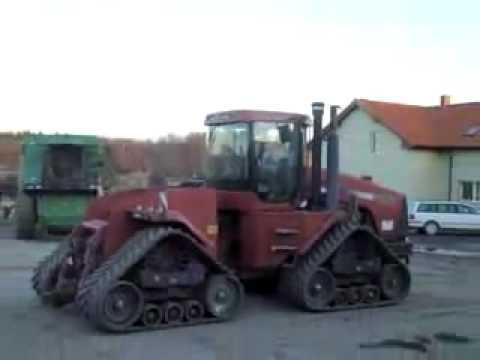 John Deere 9020 ile Paletli Traktör Case-İh Quadtrac'ın Çekişme