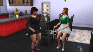 The Sims 4 - Sims dançando Hair da Little Mix