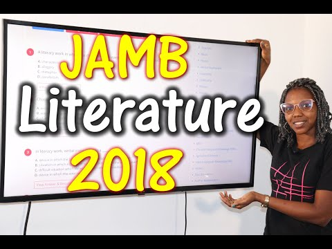 JAMB CBT Literature in English 2018 Past Questions 1 - 15
