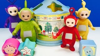 TELETUBBIES And In The Night Garden SPINNING Shape Sorter Toy!