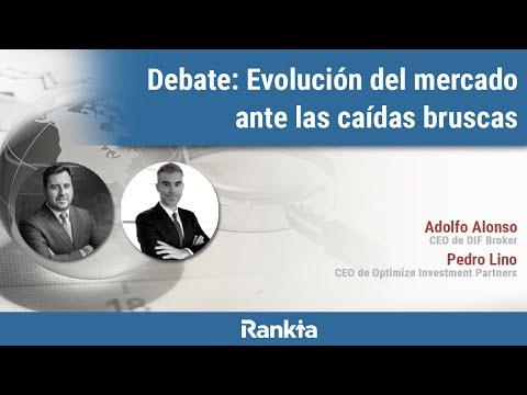 Durante la mesa redonda, Pedro Lino y Adolfo Alonso darán su visión sobre cómo evolucionaría los mercados ante las caídas bruscas en las cotizaciones y contestarán a la ronda de preguntas de los asistentes.
