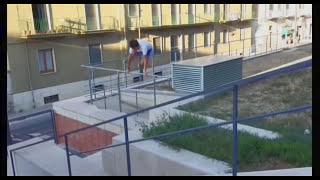 Parkour and freerunning - Matera