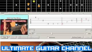 [Guitar Solo Tab] Still Got The Blues (Gary Moore)