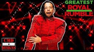 WWE Greatest Royal Rumble 2018 Shinsuke Nakamura Entrance Stage