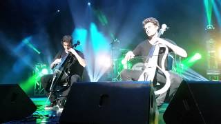 "2CELLOS- ""Every breath"" Chicago Theatre"