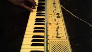 Beach House - The Traveller on Casio MT-45 (section)