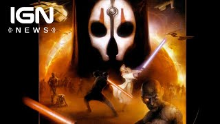 KOTOR 2 Devs Obsidian Plan Game Awards 2018 Announcement - IGN News