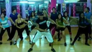 Clase de bailoterapia - Las Rochas y Chetas - Wilson Dance Show 2013