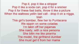 Ludacris ft Chris Brown - Dancin Dirty *LYRICS*   HIP HOP 2013