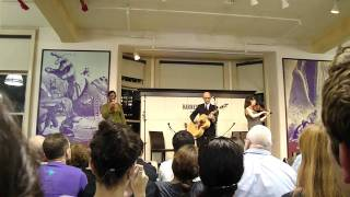 moby - natural blues, live acoustic