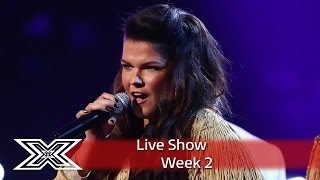 Saara Aalto belts out River Deep, Mountain High | Live Shows Week 2 | The X Factor UK 2016