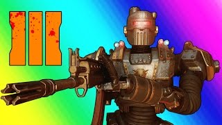 Black Ops 3 Zombies Shadows of Evil - Pack a Punch, Civil Protector Robot, & Fake Easter Eggs!