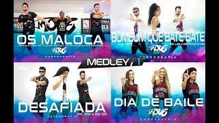 Medley Move Dance Brasil - Os Maloca - Desafiada - Bumbum Que Bate-bate - Dia de Baile