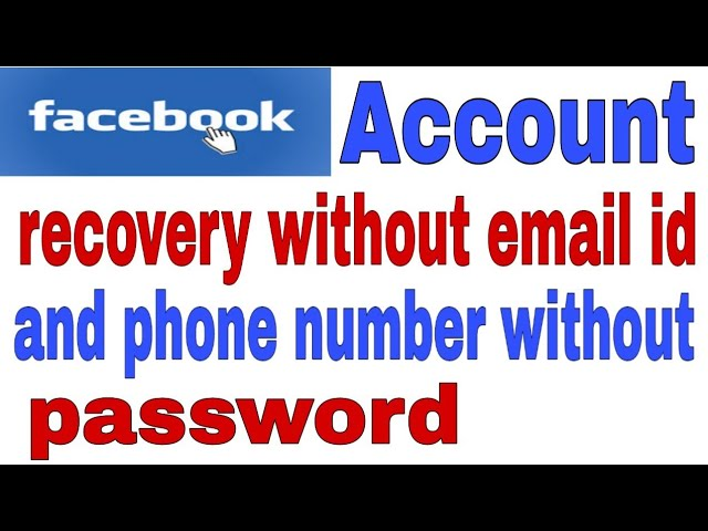 Download thumbnail for Facebook forgot email id and password