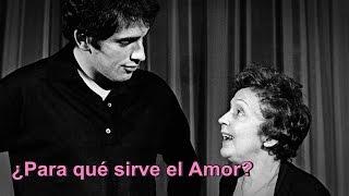 Édith Piaf & Théo Sarapo - À Quoi Ça Sert L'amour? - Subtitulado al Español