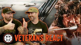 Veterans React to MILITARY Movies