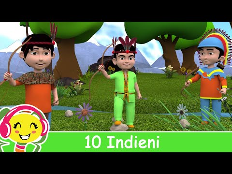 10 Indieni - Cantece cu numere pentru copii