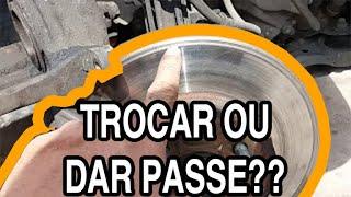 Problemas na pastilha de freios e disco