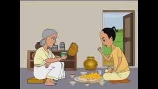 Thakurmar Jhuli Bamon Bhoot | Thakumar Jhuli Cartoon | Bengali Stories For Children | Part 1 width=
