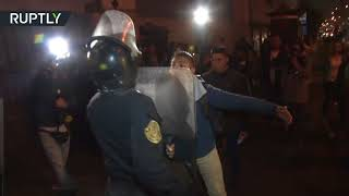 Riot police & tear gas: Clashes in Peru over tax-funded expenses by govt