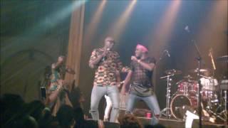 Sauti Sol performing  Shake yo bam bam