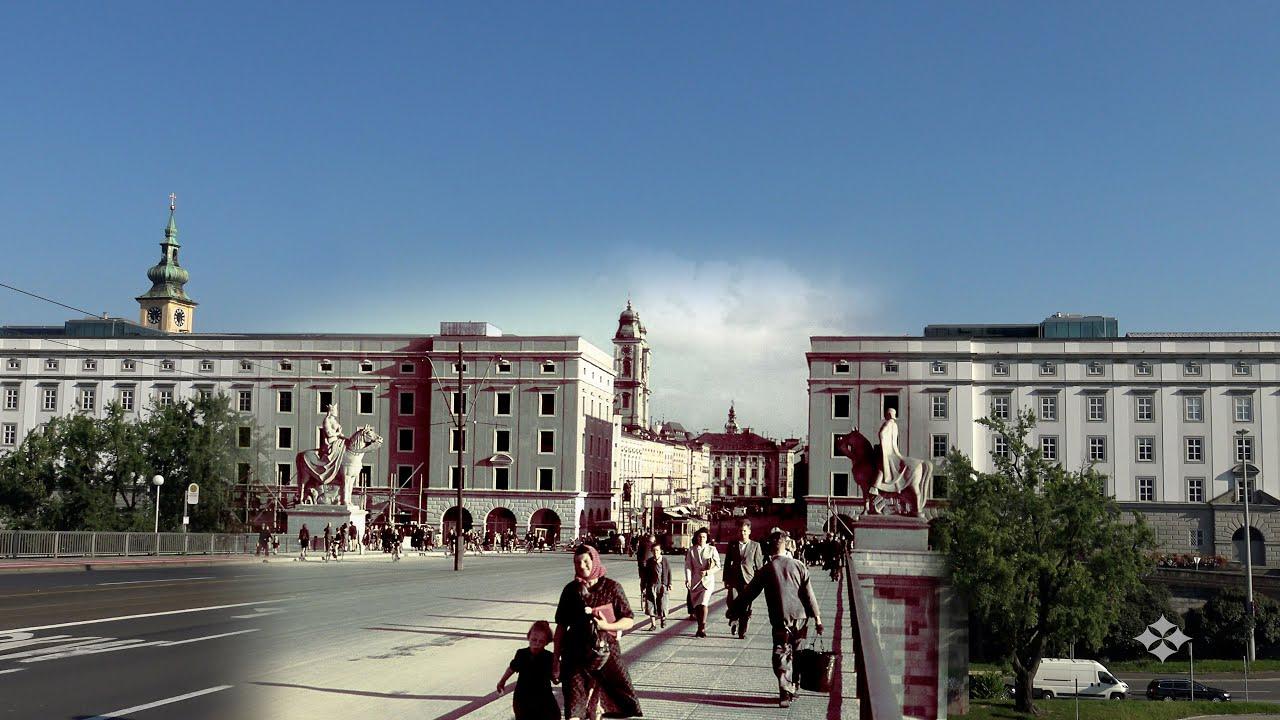 Linz Now & Then : the Patenstadt of Adolf Hitler