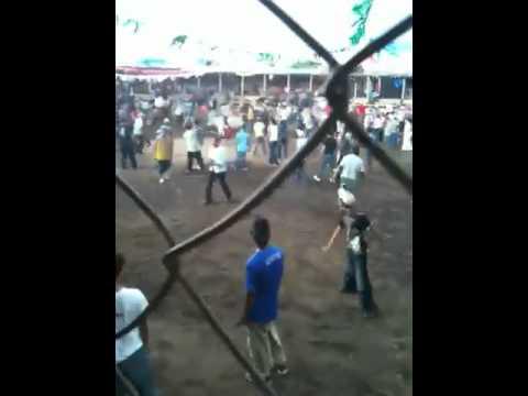 Fiesta Patronal Nagarote. Montadera de toros. 25 de Julio d