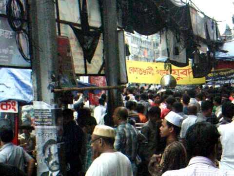アキーラさんデモ遭遇4!バングラデッシュ・ダッカ!Demo,Dahka,Bangladesh