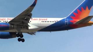 Jet2 Holidays Boeing 757-200(WL) G-LSAK Landing Malaga AGP