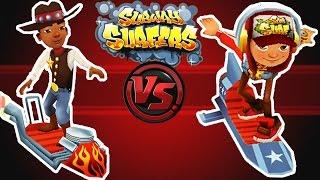 Subway Surfers - Daredevil vs Hot Rod