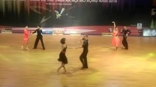Duy Hiền cha cha Hanoi Open 2015