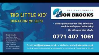 Quirky Instrumental Music - Playful, Whimsical and Mischievous Music - 'Big Little Kid' Jon Brooks